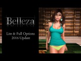 Lite & Full Options  - Belleza Mesh Body Update 2016