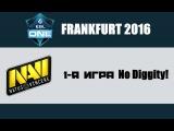 Na'Vi vs No Diggity! #1 (bo3)   ESL One Frankfurt 2016, 18.04.16