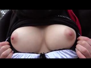 Порно анал красивая груть