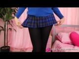 Прекрасная Lucy Anne (pantyhose skirt teen sexy fetish) (vk.com/panfeet)