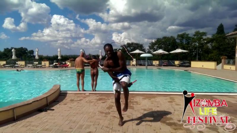 Jonathan Mahoto jumping