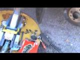 Замена передних тормозных колодок в Лада Гранта (Lada Granta)