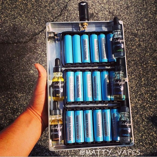 Батарея для электронных сигарет своими руками