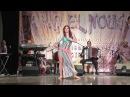 Istomina Olesya - beledi improvizaition in International festival TARIQ EL NUGOUM (6st place)
