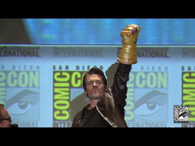 Official Josh Brolin Emerges as Thanos at the Marvel Studios Panel from Comic Con 2014