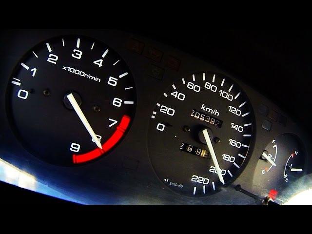 Honda Civic 2.4 vtec Acceleration 0-100 0-200 Test Drive