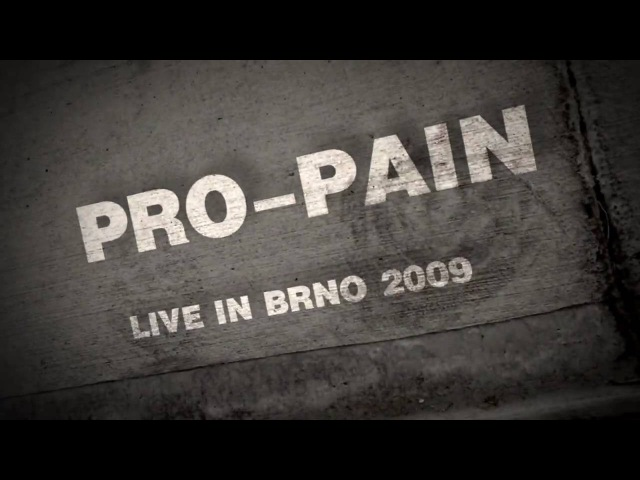 Pro-Pain - 01 - Three Minutes Hate - Live in Brno (CZE) 2009-08-30