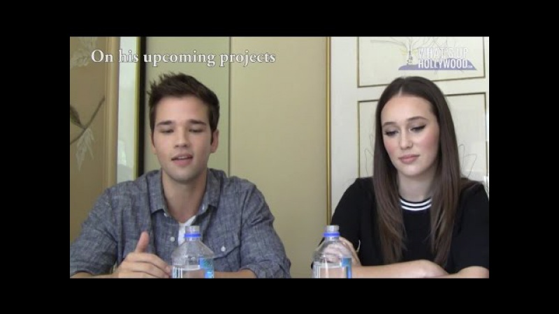 What's Up Hollywood - Into The Storm: Alycia Debnam-Carey Nathan Kress Interview