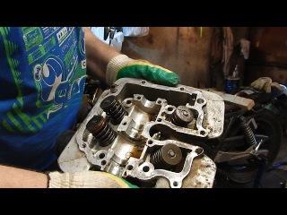 Yamaha SRX 400 4. Замена поршневых колец и маслосъемных колпачков. Часть 2 (вскрытие)