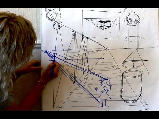 Основы построения и перспективы. Ольга Базанова