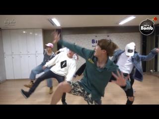 [vk] [dance practice] bts  -  baepsae  (흥 ver.)  (silver spoon, crow tit )