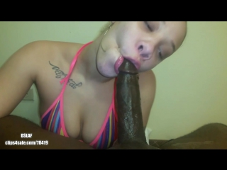 Mz natural blowjob