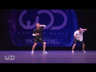 Emilio Dosal  Phillip Chbeeb _ FRONTROW _ World of Dance Hawaii 2016 _ #WODHI16