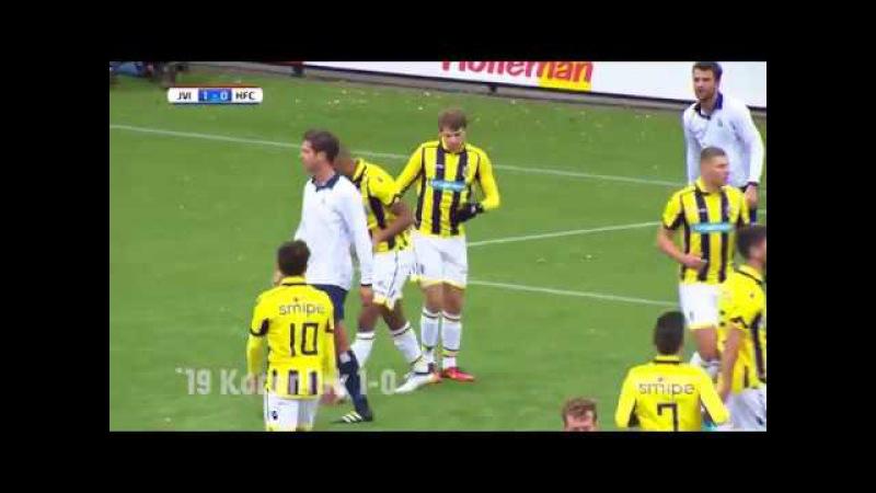 Samenvatting Jong Vitesse vs Koninklijke HFC (2-0)