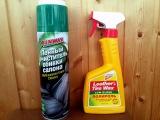 ОБЗОР - Очиститель обивки RUNWAY и полироль для пластика KANGAROO.
