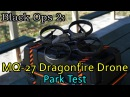 Black Ops 2: MQ-27 Dragonfire Drone Park Test || Durability and Performance