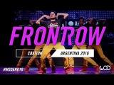 CBACTION  FrontRow  World of Dance Argentina Qualifier  #WODARG16