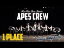BE Y.OURSEL.F DANCE CHAMPIONSHIP || APES CREW || JUNIORS || 1PLACE ||