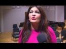 Российская оперная звезда Вероника Джиоева в опере Демон в Брюсселе
