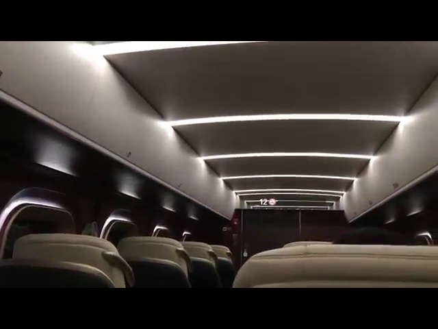 【Japanese Shinkansen】 Crazy first class !!