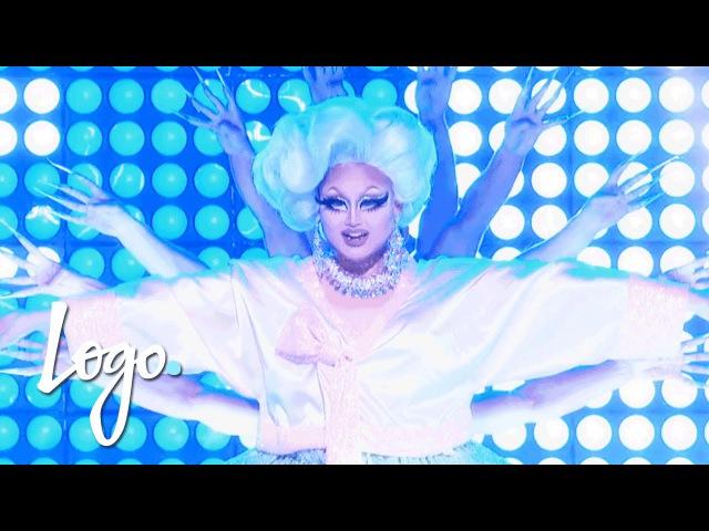 RuPaul's Drag Race (Season 8 Finale) | Kim Chi's 'Fat, Fem Asian' Performance | Logo