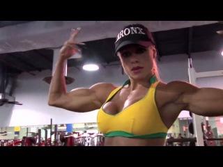 LARISSA REIS WORKOUT - Female Fitness Bodybuilding Muscle Girls