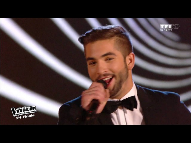 Johnny Hallyday – Allumer le feu | Kendji Girac | The Voice France 2014 | Quarts de finale