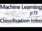 Classification w K Nearest Neighbors Intro - Practical Machine Learning Tutorial with Python p.13