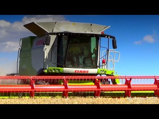 CLAAS,JOHN DEERE,CASE IH & NEW HOLLAND Combines/Mähdreschern - Harvest/Ernte 2016