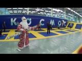 Дед Мороз в гостях у КОСМОСа