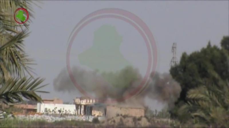 ГВСИР разносит на куски конуру сефевидов в районе Юсефия, Багдад точным выстрелом из СПГ-9 (май 2014)
