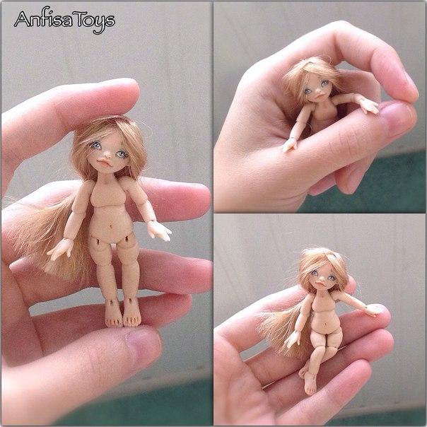 Поделки кукол из полимерной глины 314