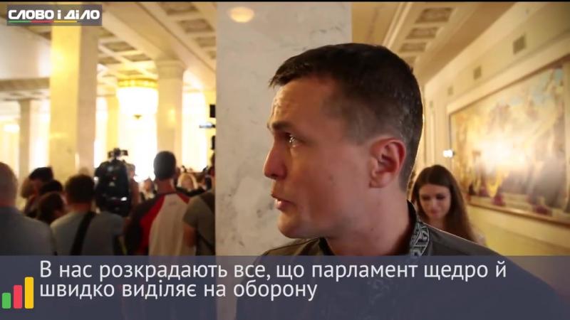 Ігор Луценко все, що парламент виділяє на обороноздатність, розкрадають