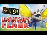 Nightblue3 - THE LEGENDARY FLANK MAX 5.0 ATTACK SPEED KOGMAW JUNGLE