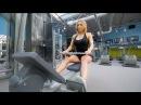 Екатерина Усманова тренировка спины и задней дельты
