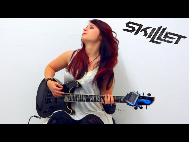 SKILLET Comatose GUITAR COVER by Jassy J