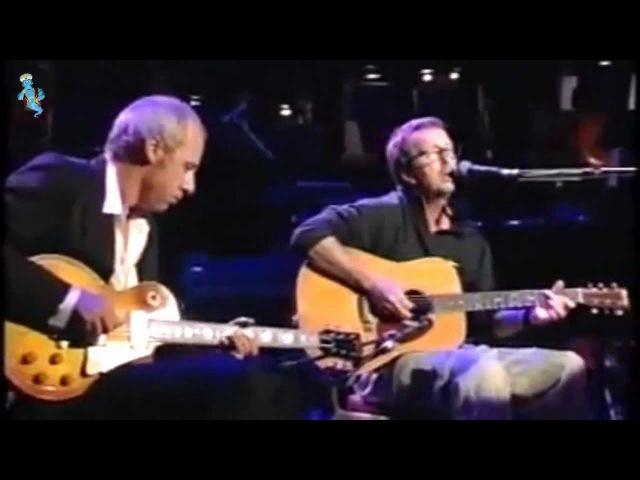 Eric Clapton Mark Knopfler - Layla - Live (remastered) Widescreen with LyRiCs (english/deutsch)