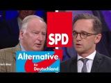Gauland (AfD) - VS - Heiko Maas (SPD) - 6.10.2016