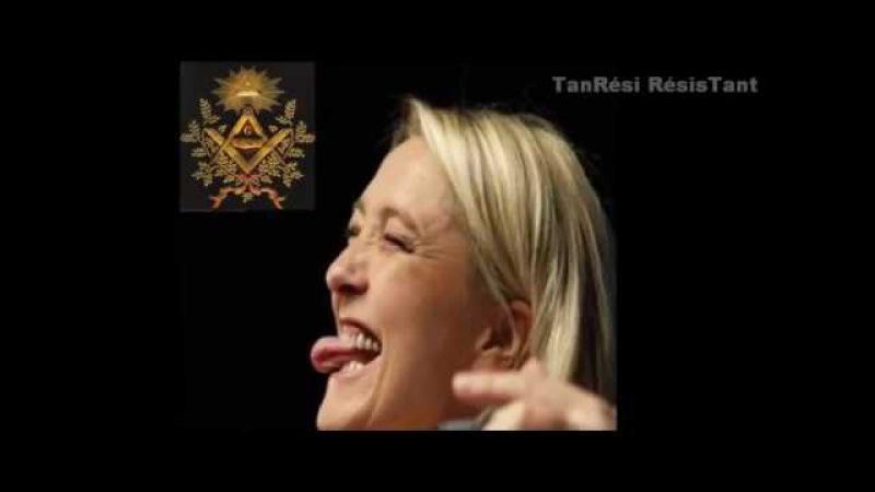 Marine Le Pen et la franc maçonnerie : le secret se brise !