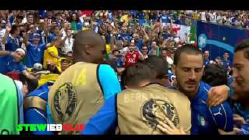 Italia Vs Svezia 1-0 ● Il Goal di Eder ● Euro 2016 ● Sky Sport HD (Caressa e Begomi) ● HD