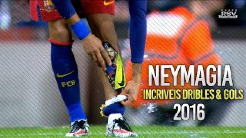 Neymar Jr ● Neymagia Incriveis Dribles Gols ● 2016 HD