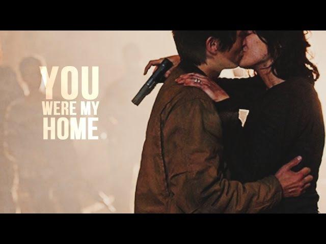 TWD Glenn Maggie You were my home