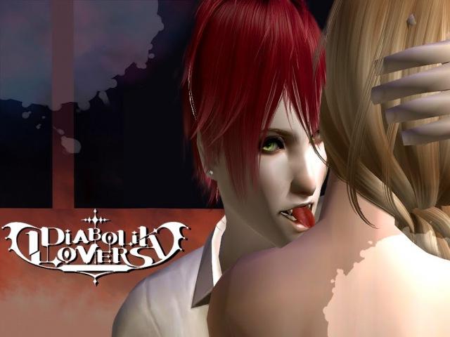 DIABOLIK LOVERS ディアボリックラヴァーズ Español English 日本語 Sims 2 ザ・シムズ2