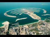 Land reclamation project Palm Jumeirah in Dubai, United Arab Emirates