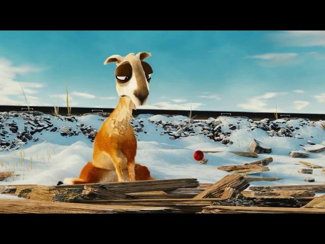 Смешные и прикольные короткометражные мультфильмы Лама и пингвинёнок.