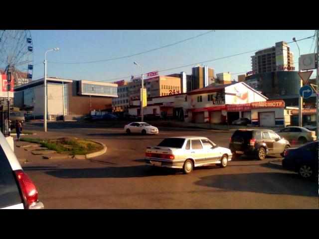 Нарушения в работе дорожников. Башкирия, г. Уфа, перекресток ул. Бакалинская - Красноводская