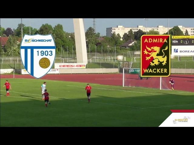 RLO 29 SV Schwechat - Admira Juniors - 2:0 - Zusammenfassung am 27.05.2016 20:22