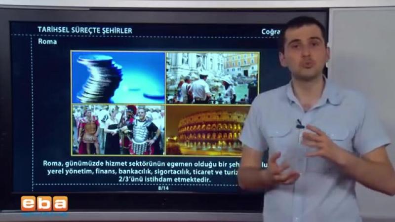121-Tarihsel Süreçte Şehirler 2 - COĞRAFYA DERSLERİ - KPSS - YGS - LYS
