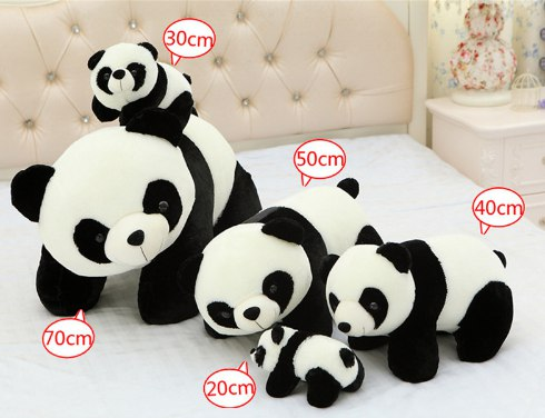 Большие панда всего за 341 руб