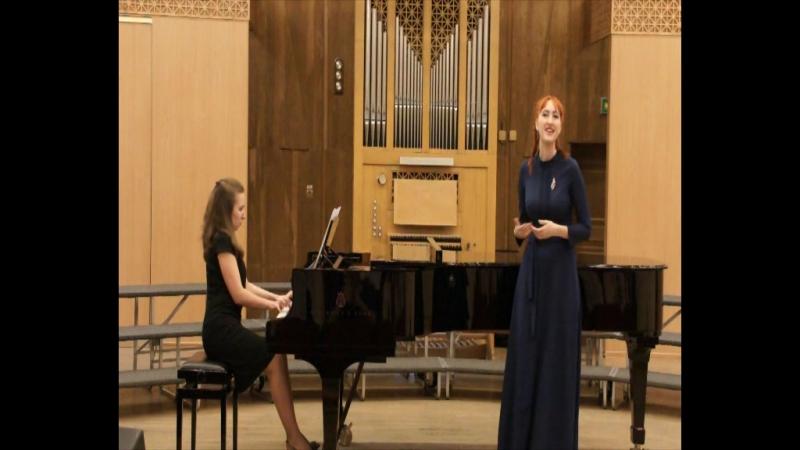 Отчетный концерт Кантеева Елизавета Песенка Пепиты